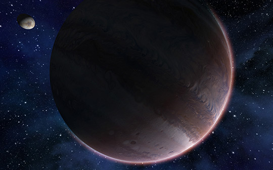 High resolution gas giant